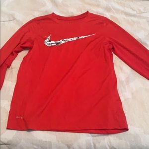 Child's Large dri-fit long sleeve shirt